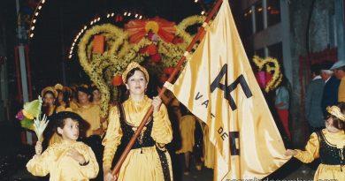 Em 1985 nas Marchas das Festas Sto. António