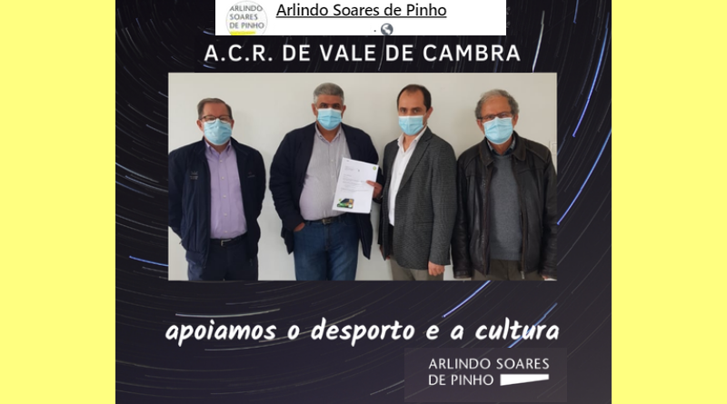 Arlindo Soares de Pinho e BP apoiam a ACR Vale de Cambra